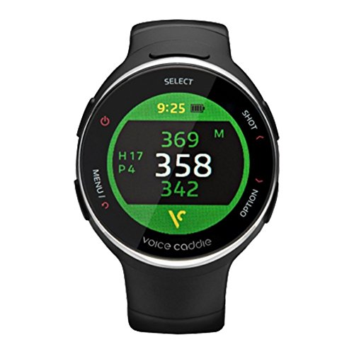 Voice Caddie T3 Hybrid Golf Watch GPS Rangefinder English Language mode with English Manual by VOICE CADDIE