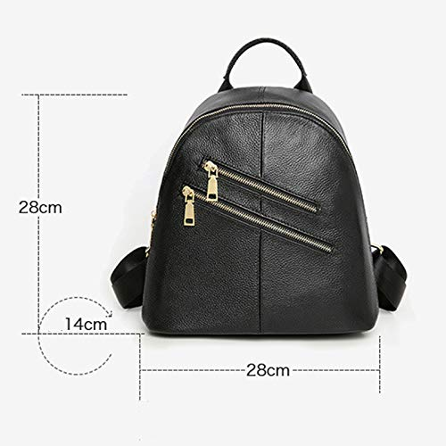 Sac Cartable Black Porté à Dos Sacs Sac Mode Cuir Sac Sac 14 Dos A 28cm Bag Main Bandoulière Travel 28 Epaule à Femme Sac à FwawTSq8