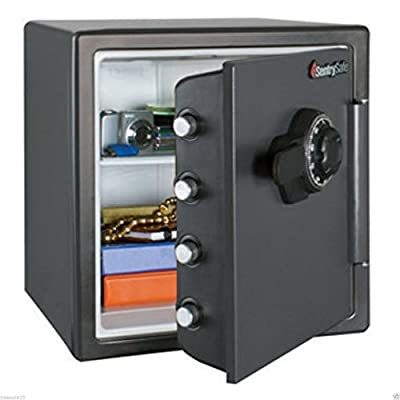 NEW Large Sentry Fire Proof Safe Big Bolts 1.2 Cubic Feet Combination Lock Box