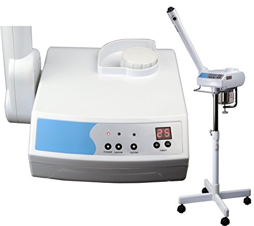 LCL Beauty Digital Aromatherapy Facial Steamer with Ozone Option