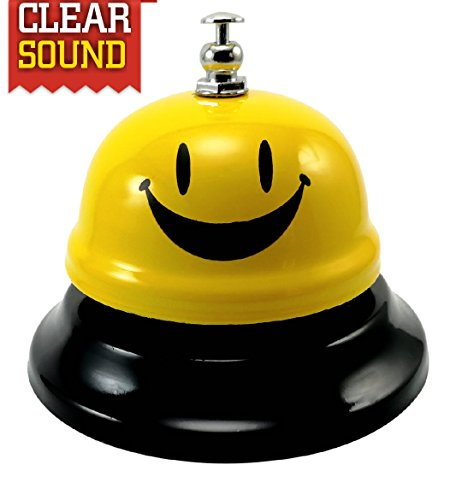 Sick Call (FOX CALL BELL Call Bell Smile High Loud Nickel-Diameter/Call Bell for Customers, Seniors, Desk, Reception, Cafe&Restaurant,Tip, Pet, Kitchen, Office/Ring For Smile [Unbreakable])