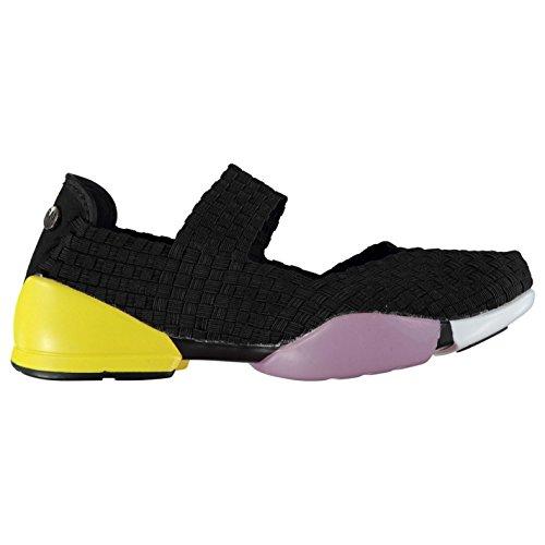 Bernie Mev Mujer Charm Shock Shoes Negro 35.5