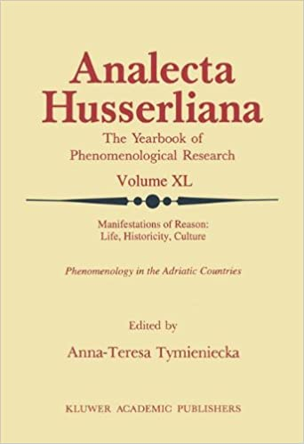Book Manifestations of Reason: Life, Historicity, Culture Reason, Life, Culture Part II: Phenomenology in the Adriatic Countries (Analecta Husserliana)