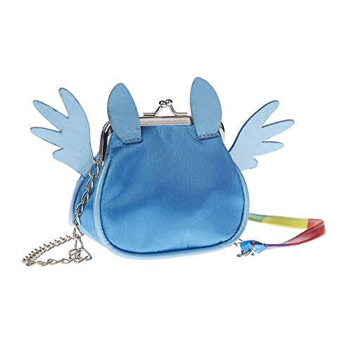 Karactermania My Little Pony Borsa Messenger, 11 cm, Blu