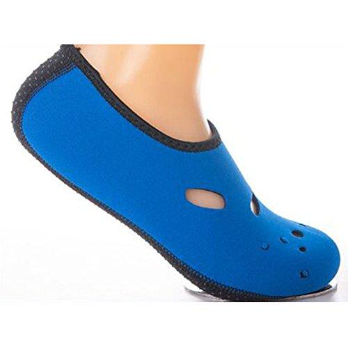 Chausson Chaussures Plongée Sport Chaussettes Aquatique Surf Plage Natation Odn Bleu Unisexe q5O6RHBB