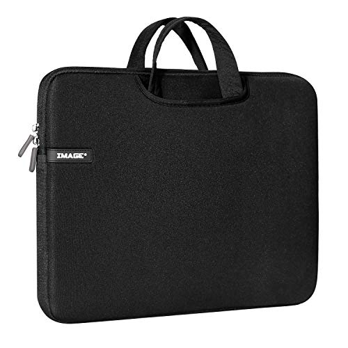 Protective Case for A4 Light Box, Image 17 Inches Carrying Bag Travel Storage Case Pouch Cover with Pockets, for LED Tracing Pad Coloring Board & Laptop, Notebook, MacBook Air (Black) ()