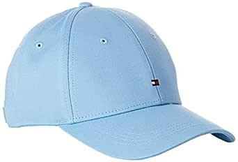 Tommy Hilfiger Women's Embroidered Flag Baseball Cap, Alaskan Blue, One