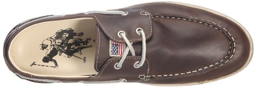 US Polo Association Benny Leather - Tacones Hombre Marrón - Marron (Dkbr)