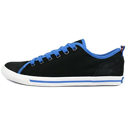 Burnetie Dames Vintage Sneaker Zwart
