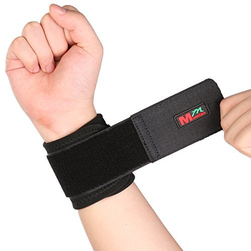 2 PCS Adjustable Wrist Support Breathable Neoprene Wrist Bra
