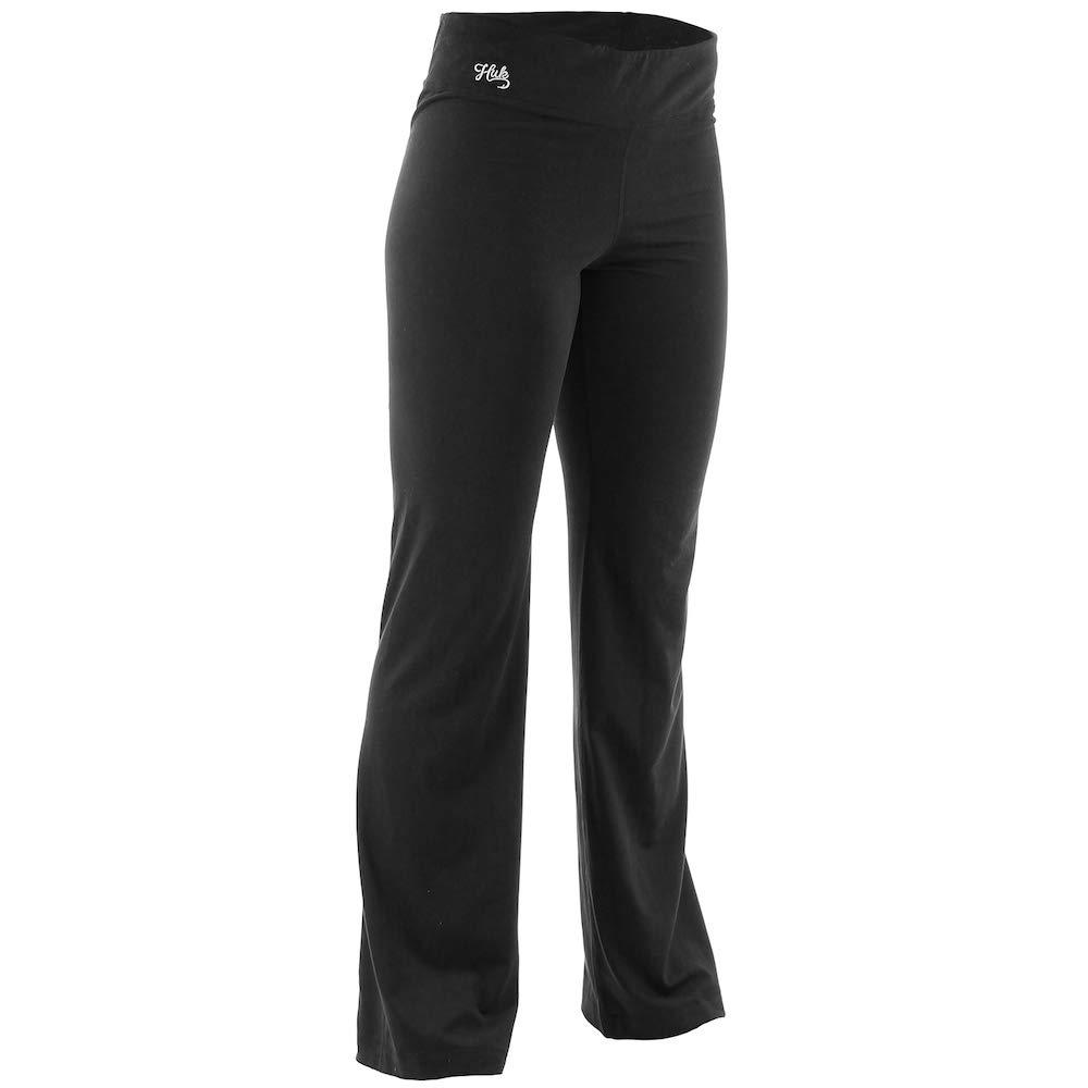 X-Small HUK H5000006-BLK-XS Huk W Yoga Pants Black