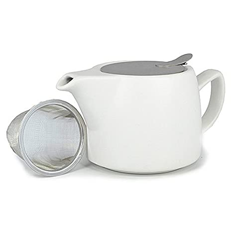 Teekanne Modern shamila teekanne modern air weiß matt 0 4 l amazon de lebensmittel