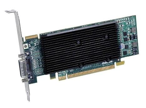 Matrox M9120 Plus - Tarjeta gráfica de 512 MB (DDR2 ...
