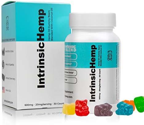 Vitamins & Supplements: Intrinsic Hemp Gummies