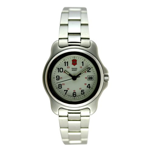 Victorinox Swiss Army Women's 24212 Officers 1884 Silver-Tone Watch