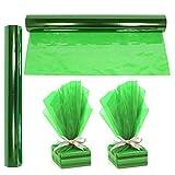 Cellophane Wrap Roll Green   100' Ft. Long X