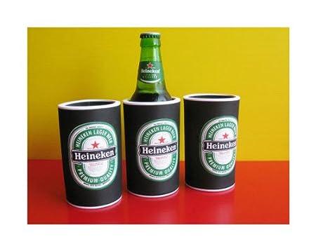 Set Of 3 Heineken Beer Label 330ml Bottle Neoprene Koozie Cooler Thailand