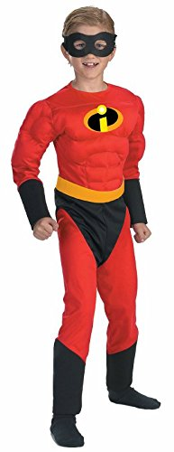 The Incredibles Deluxe Mr. Incredible Muscle Child (Mr Incredible Muscle Costumes)