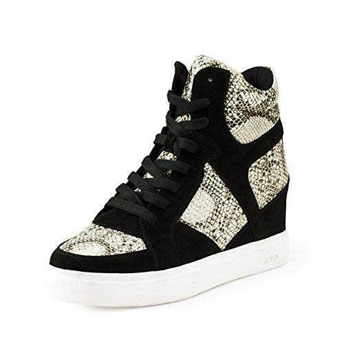 Otoño/invierno zapatos con mosaico de serpentina/Mayor de zapatos de mujer casual B