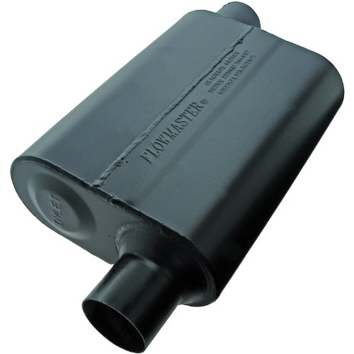 Flowmaster 942448 Super 44 Muffler – 2.25 Offset IN / 2.25 Offset OUT – Aggressive Sound