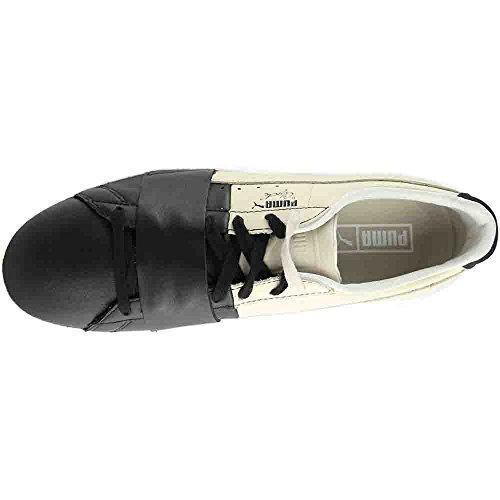 Puma Vælge Mænds Clyde Colorblock Sneakers Puma Sort / Birk xxc0OstO
