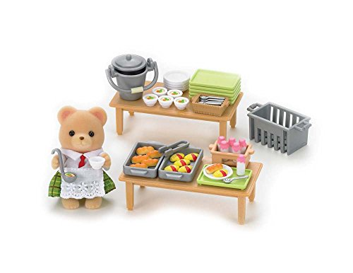 School Lunch Set (Calico Critters School Lunch Set)