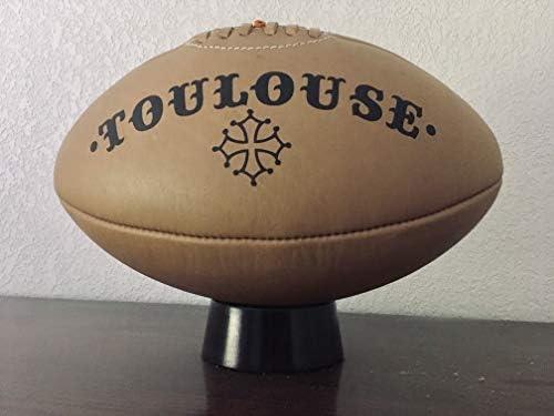 Marquel - Balón de Piel Envejecida de Rugby Vintage con diseño de ...