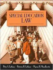 Special Education Law 1st (first) editon Text Only