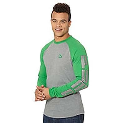Puma Men;s Cuffed Long Sleeve Tee Fern Green XL