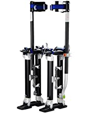 """1120 Pentagon Tool""""Tall Guyz"""" Professional 24""""-40"""" Black Drywall Stilts for Sheetrock Painting or Cleaning"""