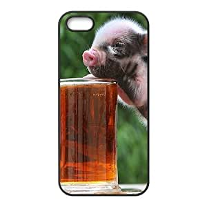 C-Y-F-CASE DIY Little Pig Pattern Phone Case For iPhone 5,5S