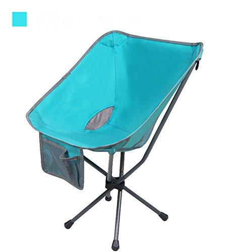 L&J Outdoor Folding Chairs, Portable Mini Storage Convenient Backrest...