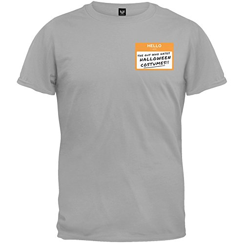 Inappropriate Costumes For Guys (The Guy who Hates Halloween Costume T-Shirt - X-Large)