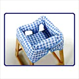 Babe Ease Original Clean Diner, Blue Gingham, Baby & Kids Zone