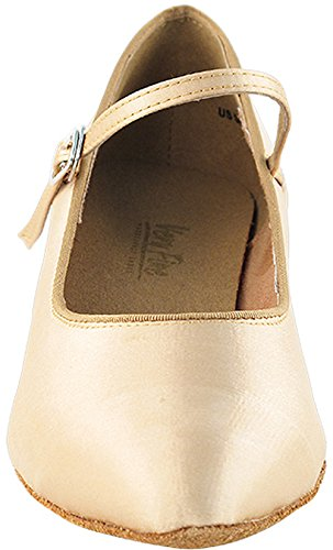 Fine Shoes 1 Salsa 3 Womens Bundle Practice Very Comfortable Dance 5 Shoes Brown Light 3008EB of Latin Satin Ballroom twxqPYxv