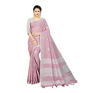 R K Maniyar Linen Foil Saree-150