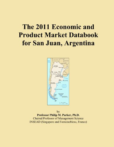 The 2011 Economic and Product Market Databook for San Juan, Argentina