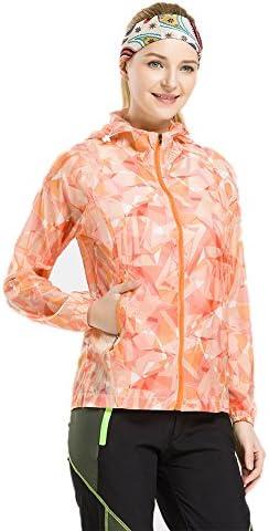 花柄 ウインドブラスト フード付 ウインドジャケット レディース アウター 超軽量 防水 防風 UVカット ウェア アウトドア 迷彩 ジップ ジャンパー ヤッケ パーカー 3色 5サイズ 女性用