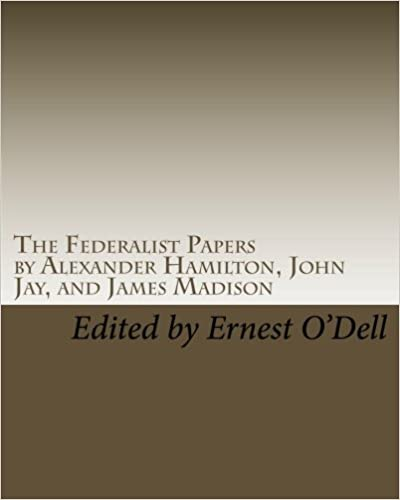 federalist paper essay The federalist [papers] listed in order and by topic authored by alexander hamilton, james madison, and john jay see also the federalist papers courtesy of the yale.