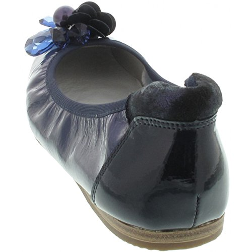 Tamaris Patent navy 22133 Pumps toe Women's Closed Blue awxr7OaFq