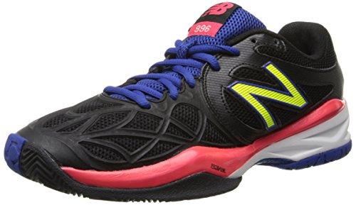 888098094435 - New Balance Women's WC996 Tennis Shoe,Black,6.5 D US carousel main 0