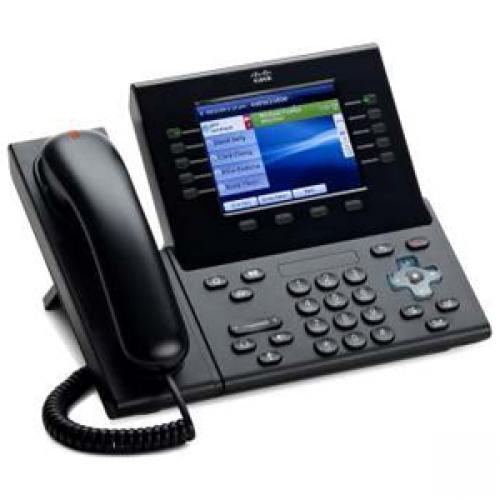 Cisco CP-8961-CL-K9 Slimline Handset for IP Phone - Charcoal B00369EKNA