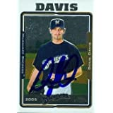 Doug Davis autographed Baseball Card (Milwaukee Brewers) 2005 Topps Chrome #367 - Autographed Baseball Cards