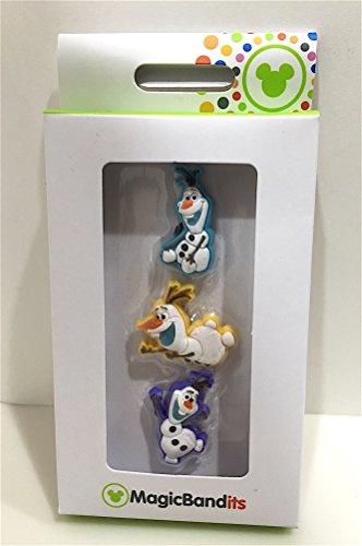 Disney Parks Frozen Snowman Olaf Magic Band Bandits Set of 3 (Snowman Band)