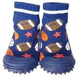 C2BB - Zapatillas-calcetines bebé niño antideslizantes suela flexible para niños | Balones de deporte - Tamaño 23