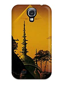 Snap-on Temples And Pyramids Case Cover Skin Compatible With Galaxy S4