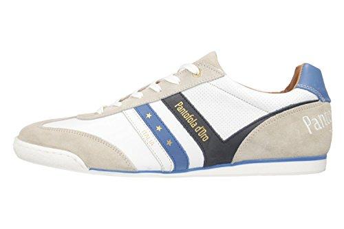 Pantofola d'Oro Sneaker in Übergrößen Weiß 10181068.1FG große Herrenschuhe Weiß
