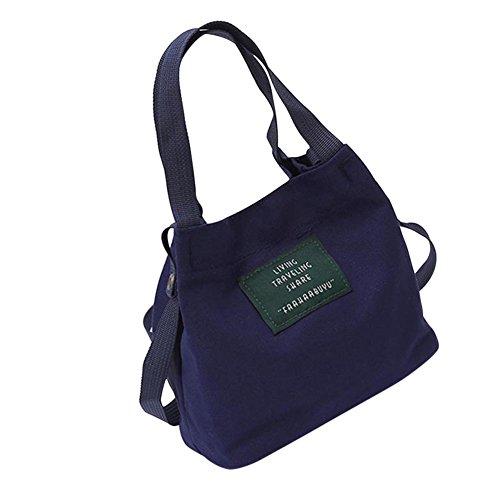 Majome Bolso del bolso crossbody del hombro de señora Girl Handbag Shoulder para los cosméticos de los teléfonos móviles Darkblue
