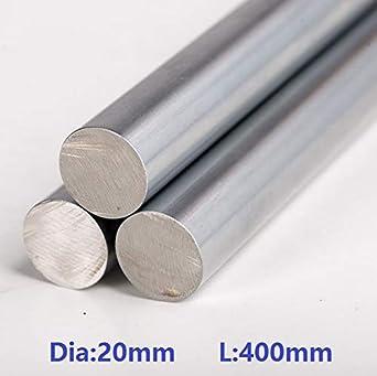 Ochoos 10 piezas/lote 20 mm Eje lineal 400 mm de largo 20 x 400 mm ...