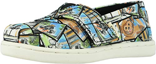 TOMS Star Wars Ewok Print Tiny Canvas Slip-on Multi-Color 10014511 11 -